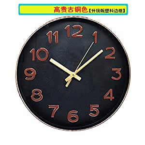 Wall Clock Werlm Creative Living Room Bedroom Minimalist Clocks Mute Bedroom Living