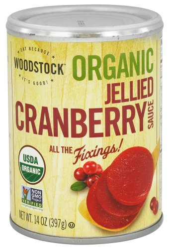 Woodstock Farms - Organic Jellied Cranberry Sauce - 14 oz (pack of 2)