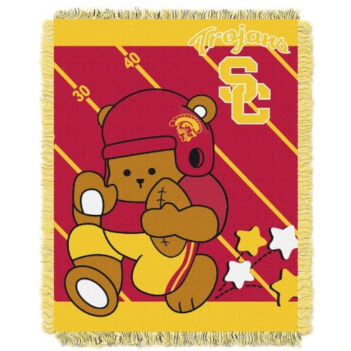 NCAA USC Trojans Baby Blanket by The Northwest Company by Northwest