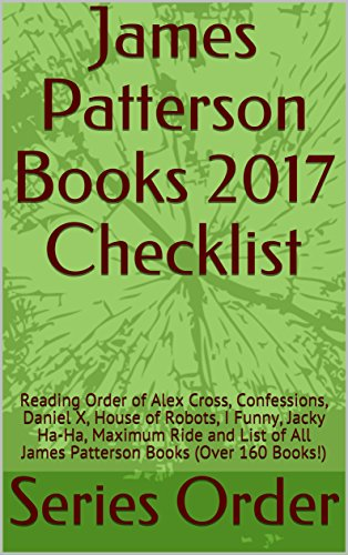 James Patterson Books 2017 Checklist: Reading Order of Alex