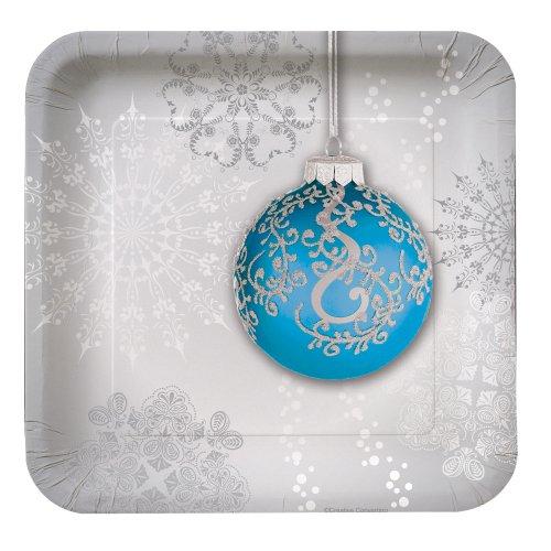 Creative Converting Jingle Square Dessert
