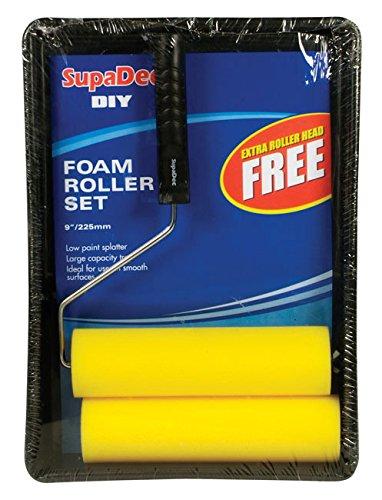 SupaDec Foam Roller and Tray Set 9 / 255mm (507064)