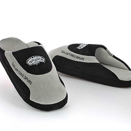 Sleeper'z – Chaussons officiels NBA San Antonio Spurs – Adulte unisexe - Homme et Femme