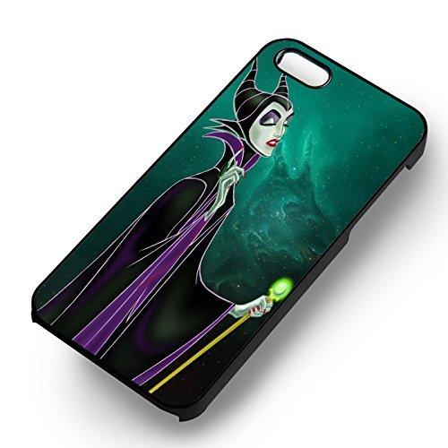 Maleficent Witch pour Coque Iphone 6 et Coque Iphone 6s Case (Noir Boîtier en plastique dur) H7S9LB