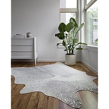 Amazon.com: 5 x 7 Brazilian auténtico alfombra de vaca ...