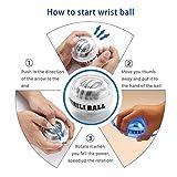 Huaker Wrist Trainer Ball Auto-Start Excerises