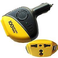 H27 KFZ Spannungswandler 12V 230V AC / 100W Power Inverter USB Port für Auto