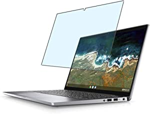[2 Pack] Synvy Anti Blue Light Screen Protector, Compatible with DELL Latitude 7410 Chromebook Enterprise 14
