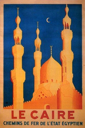 Amazon com: LE CAIRE CAIRO EGYPT ARAB TRAVEL TOURISM VINTAGE
