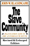 The Slave Community: Plantation Life in the Antebellum South
