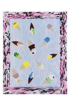 Meyda Tiffany 145251 - 34 L X 27 W Metro Fusion Benny's Ice Cream Glass Countertop. Custom Crafted In Yorkville -