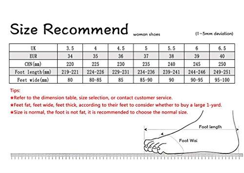 34 Sposa Long220mm Dimensioni Di Cinesi 3cm Donna High Da Scarpe Ricamate colore Nozze 3cm shoes Rosse Testa Punta a56xcqfn
