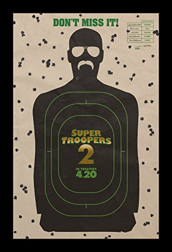 Super Troopers 2 - 11x17 Framed Movie Poster by Wallspace