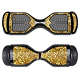 Hoverboard Gold Best Deals - MightySkins Protective Vinyl Skin Decal for Swagtron T1 Hover Board Self Balancing Smart Scooter wrap cover sticker skins Gold Chips