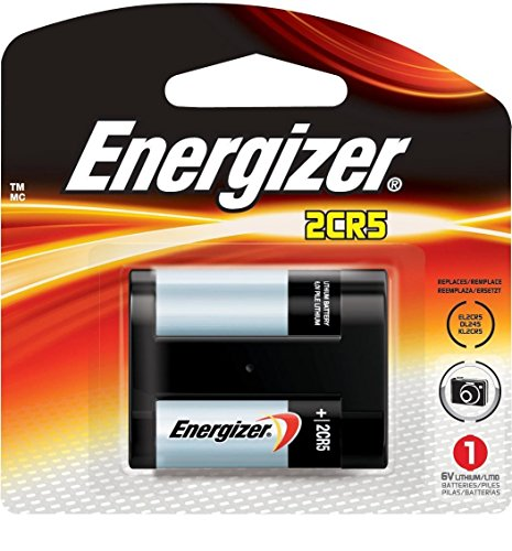 Energizer EL2CR5BP 2CR5 Lithium Battery