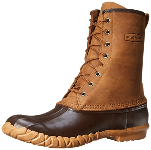 200g Pac Boots - LaCrosse Men's Uplander II 10-Inch Brown Snow Boot,Brown,10 M US