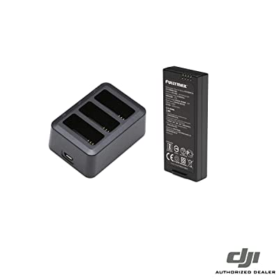 Intelligent Flight Battery and Charging Hub Bundle for DJI Ryze Tello Drone (2 Batteries): Home Audio & Theater