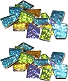 Mosaic Mercantile Sparkle Assorted Mosaic Tile, 1/2-Pound (2 Pack)
