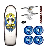 Dogtown Skateboard OG Rider Bulldog Black Fade INDEPENDENT Trucks BONES Wheels