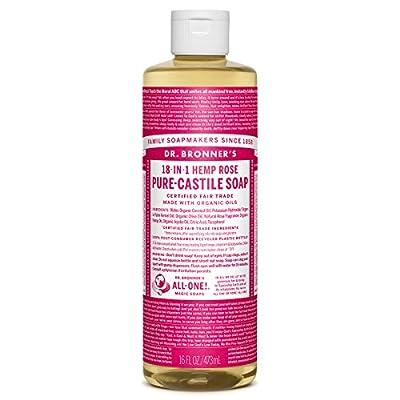 Dr Bronner's Rose Castile Liquid Soap