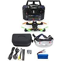 QWinOut FPV 2.4G 6CH RC Mini Racing Quadcopter Drone Tarot 130 PNF No Battery Full Set TL130H1 CC3D 520TVL HD Camera 5.8G 32CH Goggle