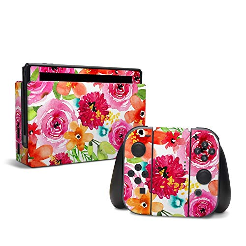 Floral Pop - Decal Sticker Wrap - Compatible with Nintendo Switch