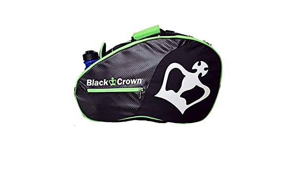 Amazon.com : Black Crown Padel Sports Bag Tron, Black and ...
