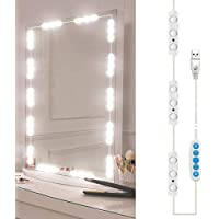 Led Vanity Mirror Lights, Hollywood Style Vanity Make Up Light, Dimmable Color and Brightness Lighting Fixture Strip…