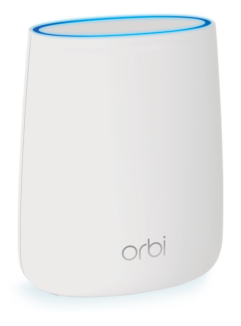 Netgear RBS20-100NAS AC2200 Tri-Band Wi-Fi Coverage Orbi Whole Home Satellite by NETGEAR