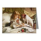 CafePress - Suspense By Charles Burton Barber Note Cards - Blank Note Cards (Pack of 20) Glossy