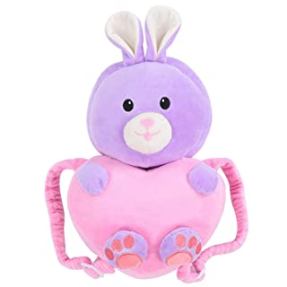 Protection Pillow, Baby Toddlers Cartoon Animal Head Protective for Baby Walkers Protective Head and Shoulder Protector Prevent Head Injured(Pink Rabbit)