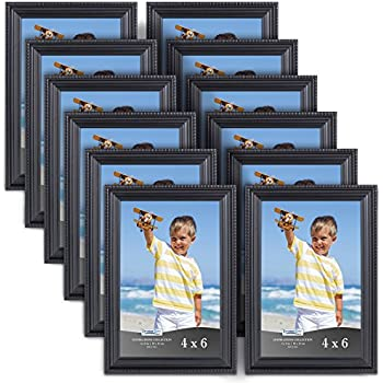 Amazon.com - Icona Bay Black Picture Frames (4 x 6 Inch, 12 Pack ...