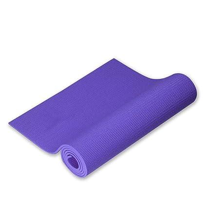 Esterilla Yoga Antideslizante, Colchoneta de Yoga de NBR de ...