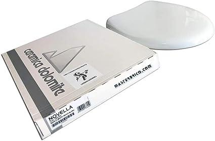 Sedile Wc Dolomite Novella.Copriwater Dolomite Novella Originale In Termoindurente Cerniere Inox Codice J102500 Bianco Amazon It Fai Da Te