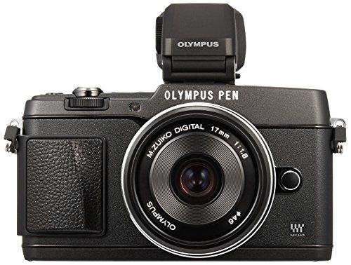 オリンパス ペンEP5 ブラック レンズキット M.ズイコー デジタル17mm F1.8