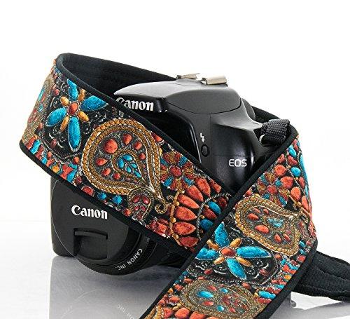 quick-release-camera-strap-209-southwestern-fits-dslr-slr-or-mirrorless-cameras