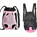 PanDaDa Pet Dog Traveling Backpack Outdoor Puppy Carrying Backpack Breathable Pet Dog Carrier