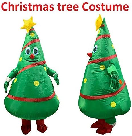 Hinchable Árbol de Navidad Disfraz Adulto Inflable Traje Halloween ...