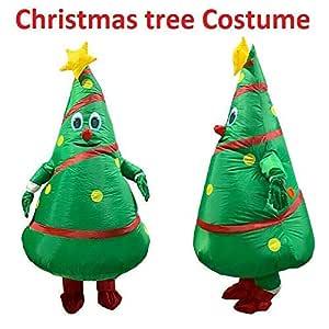 Hinchable Árbol de Navidad Disfraz Adulto Inflable Traje ...