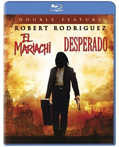 Amazon Com El Mariachi Desperado Double Feature Blu Ray Robert Rodriguez Movies Tv