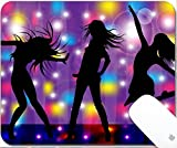 Luxlady Natural Rubber Gaming Mousepads dance 9.25in X 7.25in IMAGE: 26162392