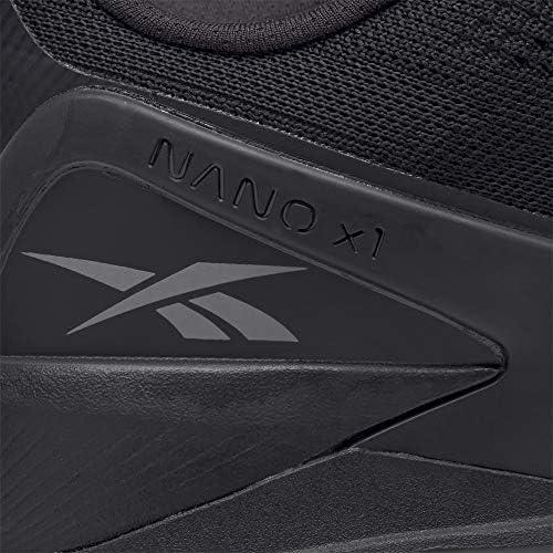 Reebok Men's Nano X1 Cross Trainer, black/night black/rubber gum, 9.5   Revista 21-15-9