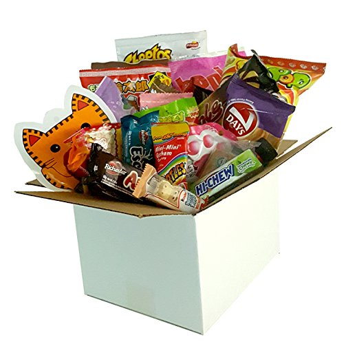 Snack Box from around the world - Care Package (25 Count)