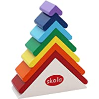 Skola Toys Rainbow Roofs Stack and Nest