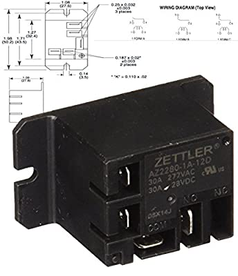 American Zettler Power Relay for Atwood 93849 Water Heater Relay Kit RV Parts ( with USB Cable )