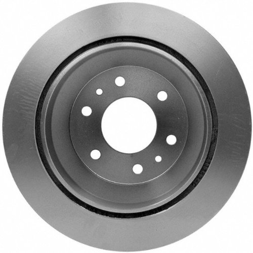ACDelco 18A1207 Professional Durastop Rear Drum In-Hat Disc Brake Rotor