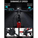 Leifeng-Tower-Alta-velocita-26-Elettrico-Pieghevole-Mountain-Bike-Bici-elettrica-con-36V-10Ah-agli-ioni-di-Litio-300W-Motore-Premium-Full-Suspension-E-21-velocita-Gears-Color-White