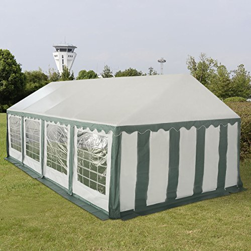 TANGKULA 13'X26' Outdoor Canopy Tent Wedding Party Tent Carport Shelter with Removable Enclosure...
