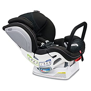 Image of Baby Britax Advocate ClickTight Anti-Rebound Bar Convertible Car Seat - 3 Layer Impact Protection - Rear and Forward Facing - 5 to 65 Pounds, Circa