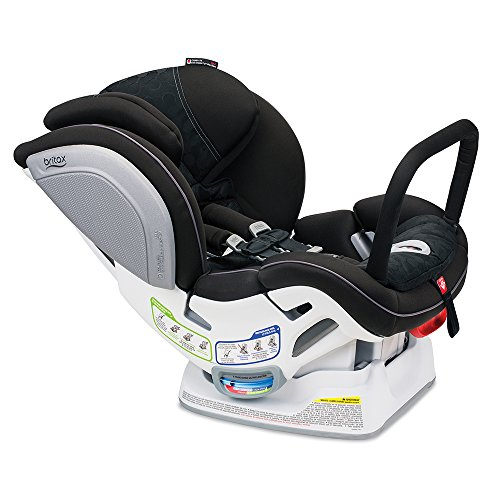 Britax Advocate ClickTight Anti-Rebound Bar Convertible Car Seat - 3 Layer Impact Protection - Rear & Forward Facing - 5 to 65 Pounds, Circa (Peg Perego Vs Britax Convertible Car Seat)